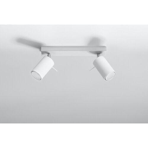 Licht-Erlebnisse Deckenspots »ETNA Wohnzimmer Spot Weiß moderner Strahler Küche Flur Strahler Lampe«