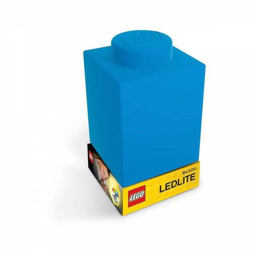 Lego Nachttischlampe »Nachtlicht LEGO-STEIN, blau«