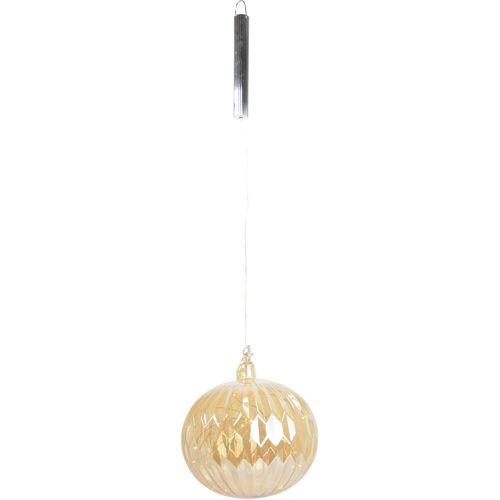 LED Dekolicht »Glaskugel«, mit 20 Lichtern und Timer