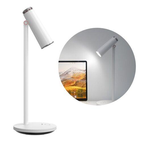 Baseus LED Schreibtischlampe »Drahtlose Schreibtisch-LED-Lampe Licht Lampe Beleuchtung 1800 mAh Bürolampe Leselampen weiß«