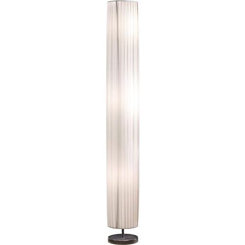 SalesFever Stehlampe »Leah«, Plissee Lampenschirm aus Latex