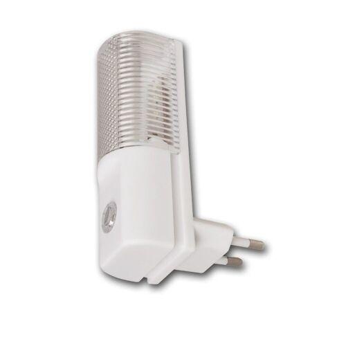 McPower LED Nachtlicht »Nachtlicht LED SENSOR - Steckdosenbetrieb - hellweiss 6000K- 1,2W - mit Dämmerungssensor«