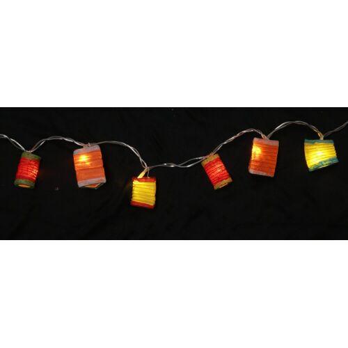 Guru-Shop LED-Lichterkette »LED Lichterkette Lampions - mix bunt 2«, mix bunt 2