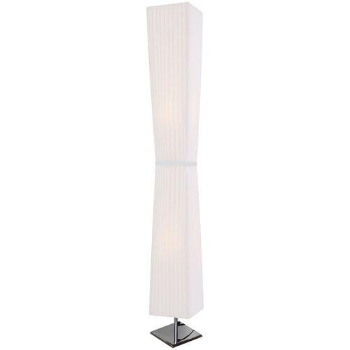 SalesFever Stehlampe »Leon«, Plissee Lampenschirm aus Latex