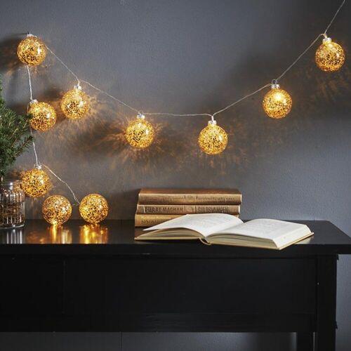 STAR TRADING LED-Lichterkette »LED Ball Lichterkette