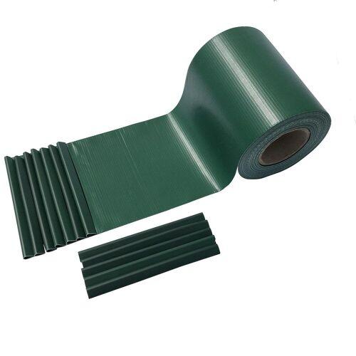 interGo Sichtschutzstreifen »Sichtschutzstreifen 35m Rolle Grün Zaunfolie Sicht«