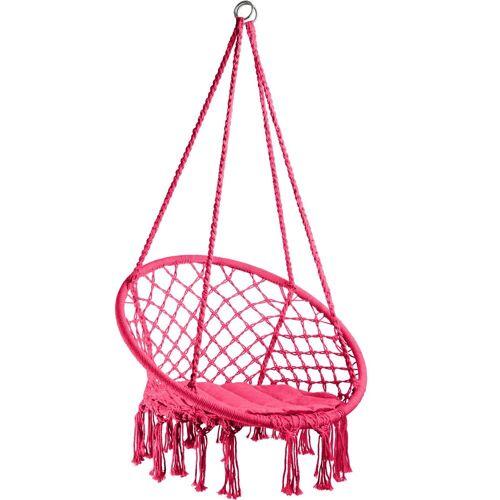 tectake Hängesessel »Hängesessel Jane« (1-St), pink