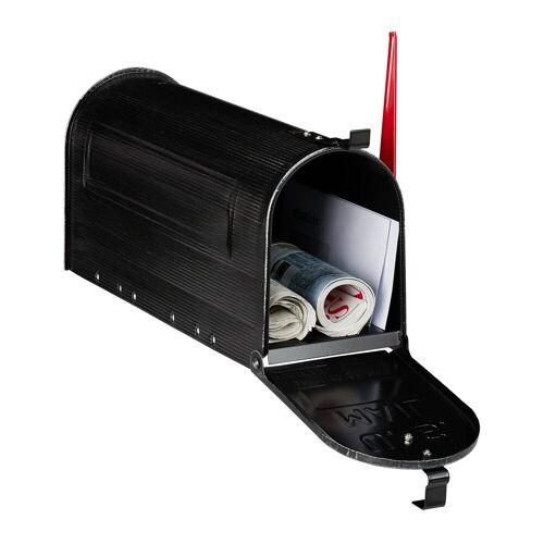 relaxdays Briefkasten »US Briefkasten vintage black«