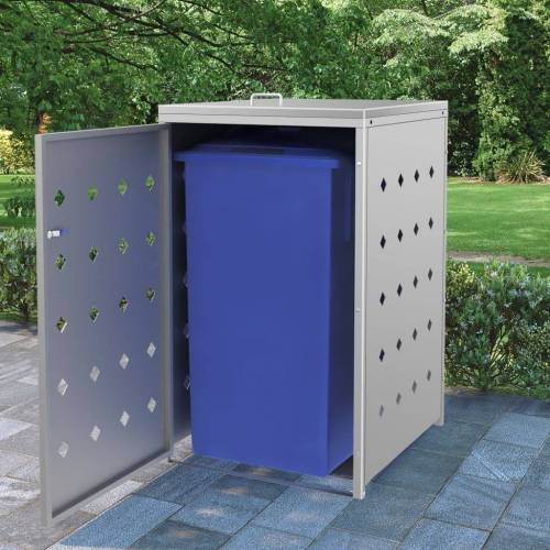 vidaXL Mülltonnenbox