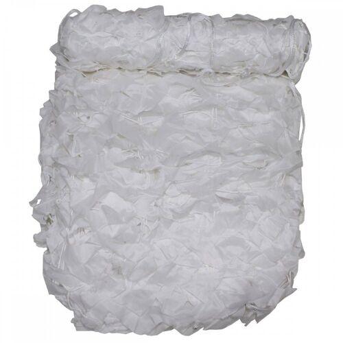 MFH Sonnensegel »Tarnnetz, 3 x 2 m, Basic, weiß, mit PVC-Tragebeutel«, weiß