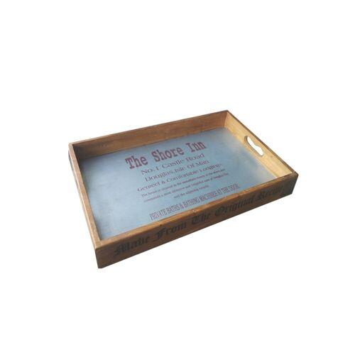 HTI-Line Tablett »Holztablett Lino«, Holz, Tablett