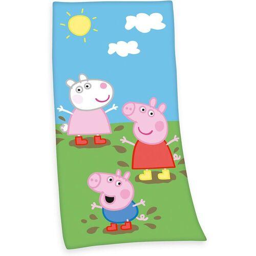 Herding Badetücher »Strand- & Badetuch Peppa Pig, 75x150 cm«