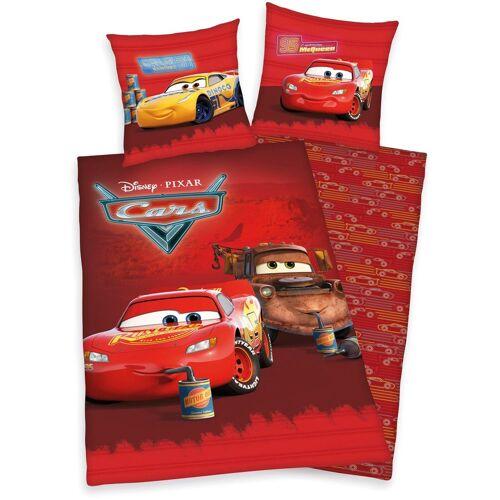 Disney Walt Disney Kinderbettwäsche »Disney´s Cars«, , mit tollem Lightning McQueen-Motiv