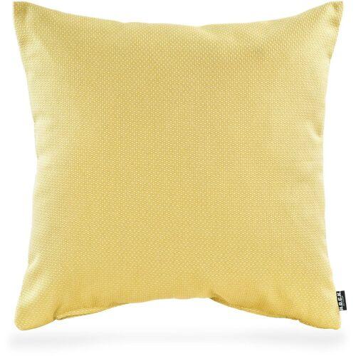 H.O.C.K. Dekokissen »Gian Outdoor«, 50/50 cm, gelb