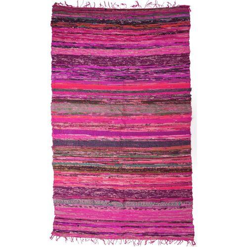 Guru-Shop Teppich »Leichter Flickenteppich, Flickendecke 100*160..«, , Höhe 160 mm, pink-bunt
