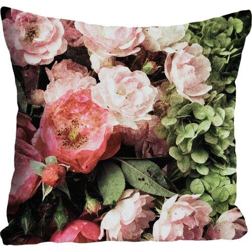 queence Kissenhülle »Blüten«, (1 Stück)