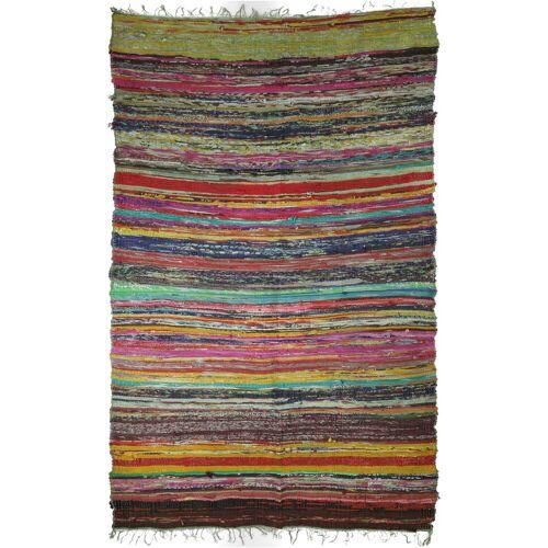 Guru-Shop Teppich »Leichter Flickenteppich, Flickendecke 100*160..«, , Höhe 160 mm, grün-bunt