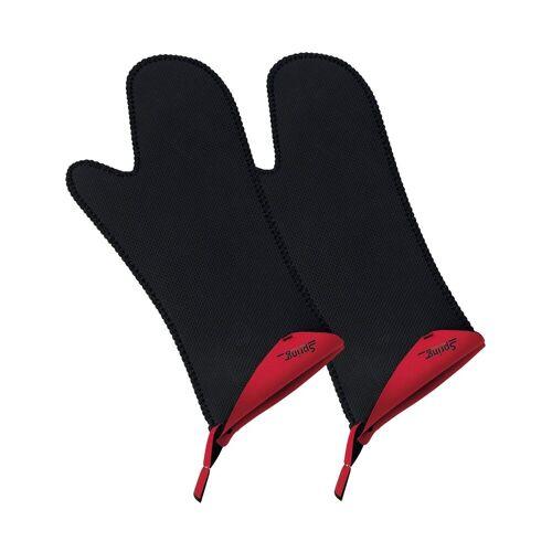 Spring Topfhandschuhe »Handschuh lang, 2er-Set GRIPS«, Rot