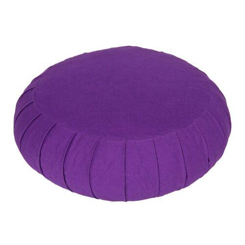 yogabox Yogakissen »Meditationskissen Zafu BASIC«, lila