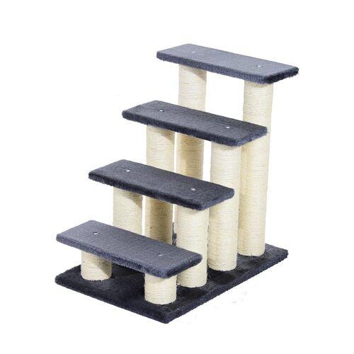 PawHut Kratzbaum »Katzentreppe mit 4 Stufen«