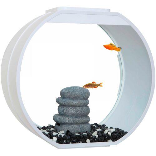 AA Aquarium Aquarium »Deco O«, weiß
