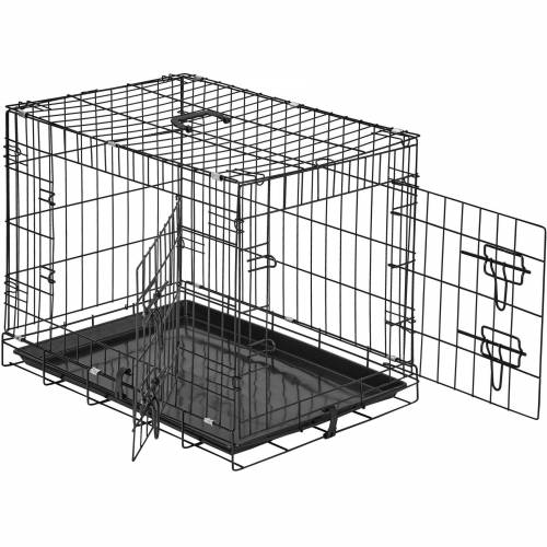 tectake Tiertransportbox »Hundebox Gitter tragbar«