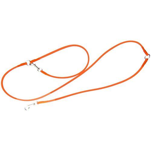 HEIM Hundeleine »Biothane«, Biothane, für Retriever, orange, Ø: 1 cm, L: 2,5 m