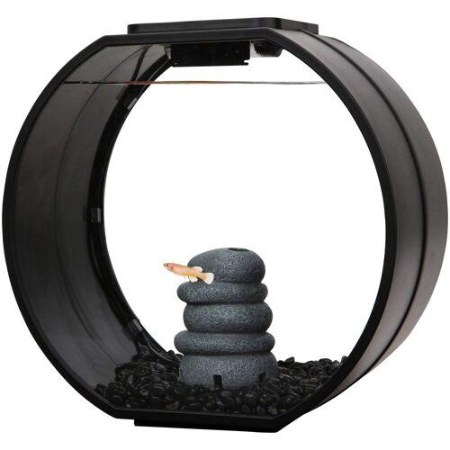 AA Aquarium Aquarium »Deco O mini«, schwarz