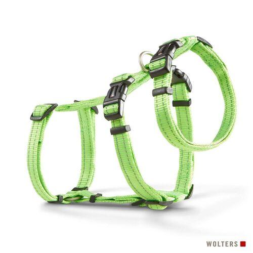 Wolters Hunde-Geschirr »Ausbruchssicheres Soft & Safe No Escape«, Nylon, lime