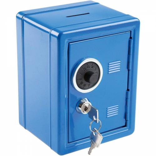 Idena Spardose »Spartresor, blau«, blau
