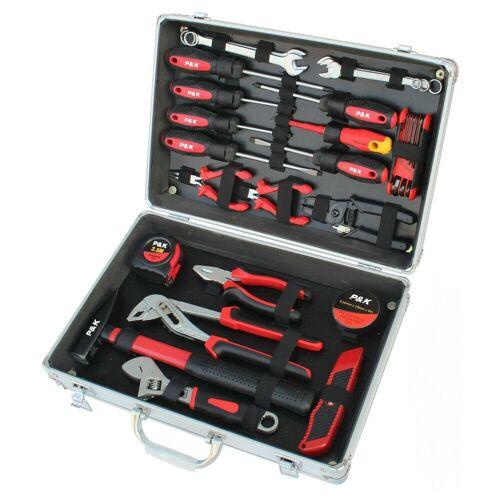 P & K Werkzeugkoffer »30 teiliger Alu Werkzeugkoffer« (30 Stück)