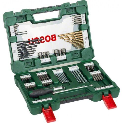 Bosch Werkzeug »91-teiliges V-Line - TiN-Bohrer- und Bit-Set - grün«