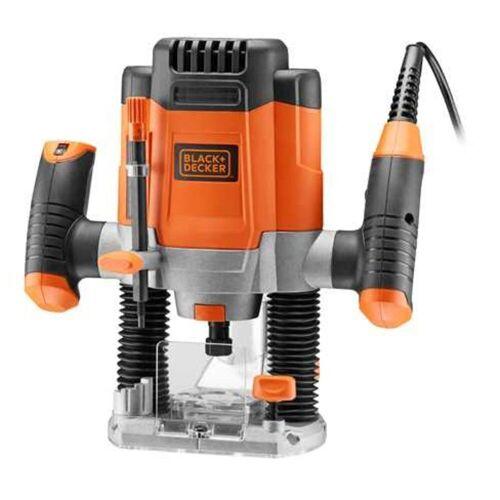 Black & Decker Oberfräse »Elektronik-Oberfräse KW1200E-QS«