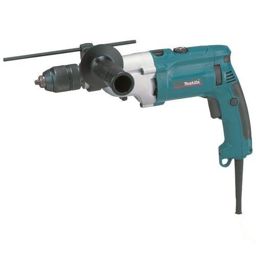 Makita Werkzeug »HP2071J - E.-Schlagbohrmaschine - 13 mm - blau/schwarz«