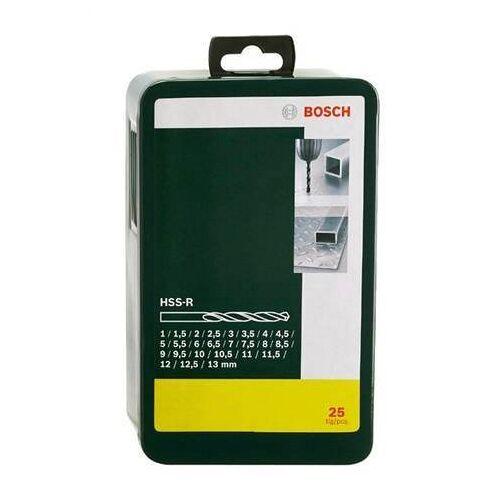 Bosch Metallbohrer »HSS-R (25-tlg)«, (Set, 25-tlg)