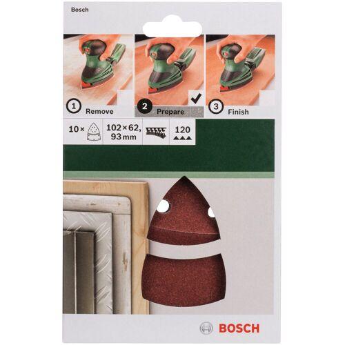 Bosch Schleifpapier »Multischleifer«, (10 St), K = 120