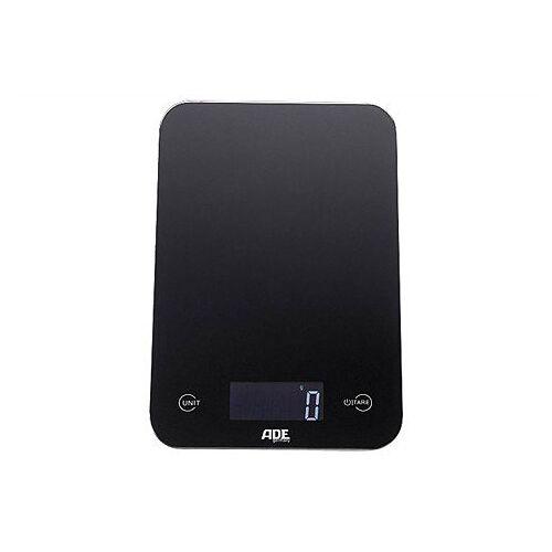 ADE Küchenwaage »KE 926 - Slim«, mit Sensor-Touch, 15 mm flach, grammgenau bis 5kg, schwarz