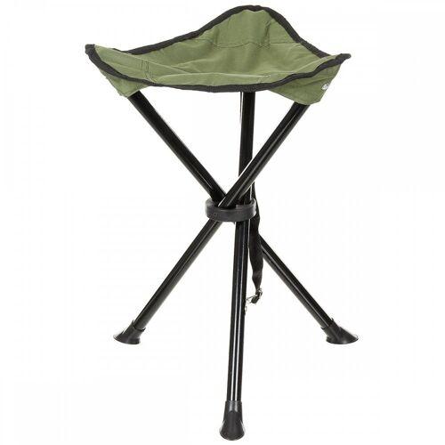 MFH Campinghocker »Klapphocker, Dreibein, oliv«, Klapphocker, Dreibein
