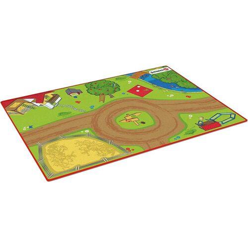 Schleich® Kinderteppich »Schleich 42442 Farm World: Spielteppich Bauernhof«,
