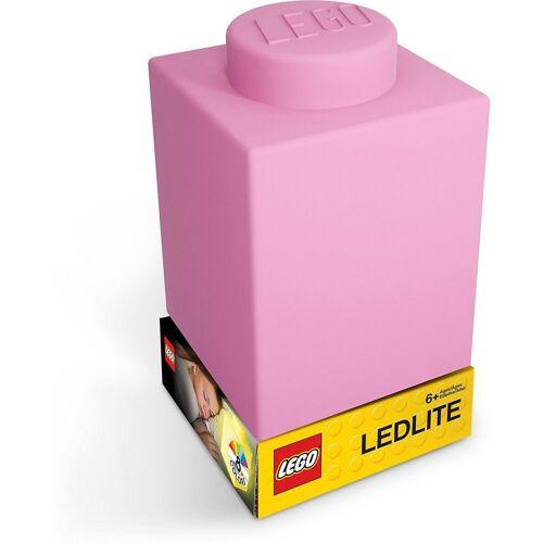 Lego Nachttischlampe »Nachtlicht LEGO-STEIN, rosa«