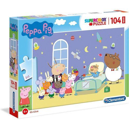 Clementoni® Puzzle »Puzzle 104 Teile, Maxi - Peppa Pig«, Puzzleteile