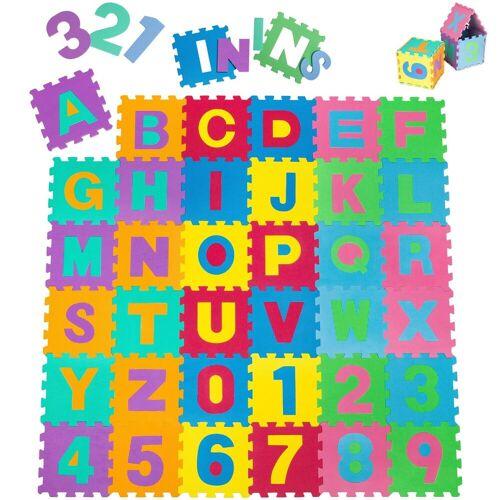 tectake Puzzlematte »Puzzlematte 86-tlg.«, 86 Puzzleteile
