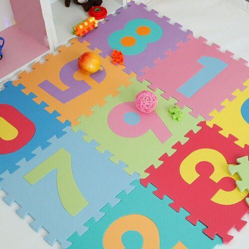 style home Puzzlematte, 36 Puzzleteile, PuzzlequadrateBodenmatte Spielteppich Kinderteppich Spielmatte Lernteppich Schadestofffrei