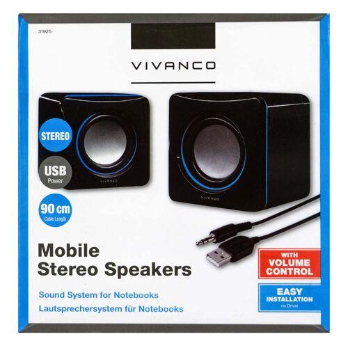 Vivanco Mobile Stereo Lautsprecher