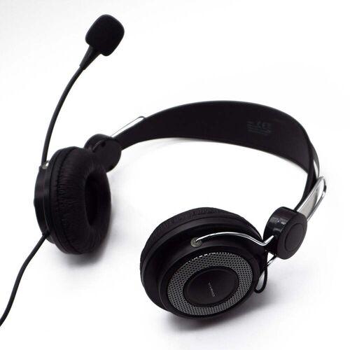 Vivanco Retro Kopfhörer mit Mikrofon