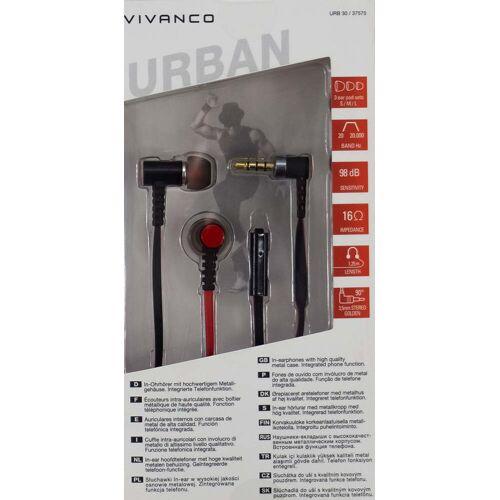 Vivanco Urban Style In-Ear Kopfhörer rot