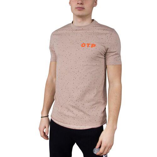 Off The Pitch Das Cosmic Slimfit-T-Shirt ,  braun