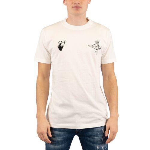 Off White T-shirt Slim Elves , , , , ,  weiß