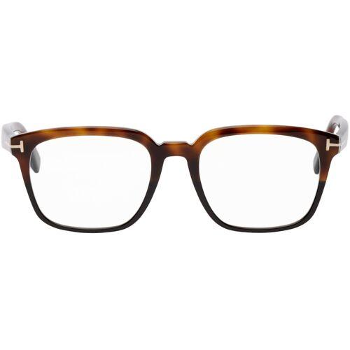 TOM FORD Tortoiseshell Square Glasses UNI