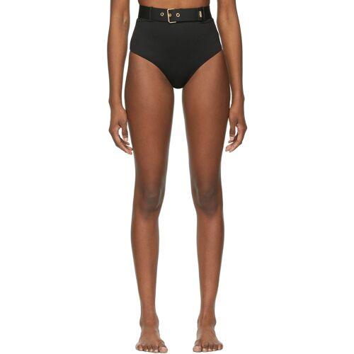 Moschino Black Buckle Bikini Bottoms 5